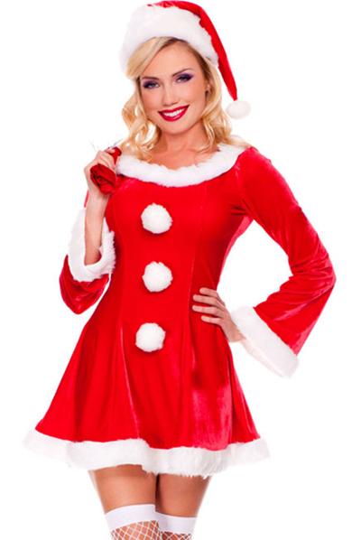 Klänning   Tomtedräkt – Jul  aa5282f1c26ad